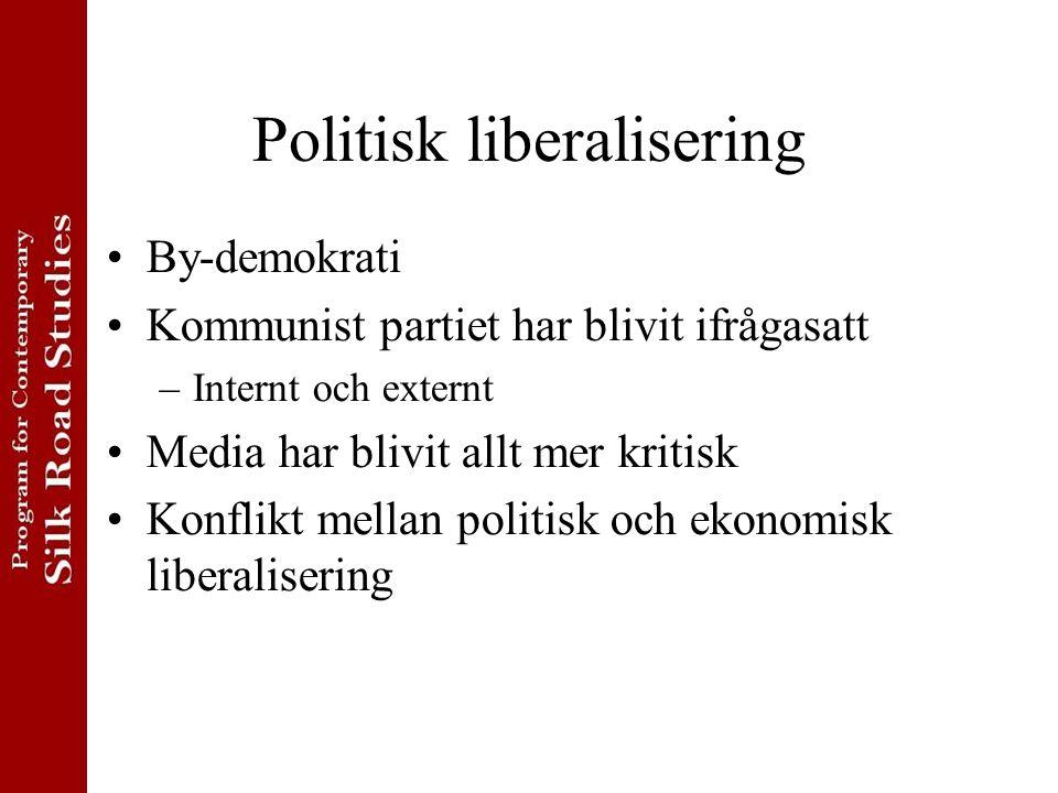 Politisk liberalisering