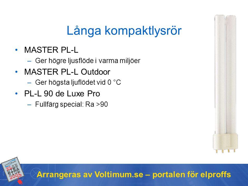 Långa kompaktlysrör MASTER PL-L MASTER PL-L Outdoor