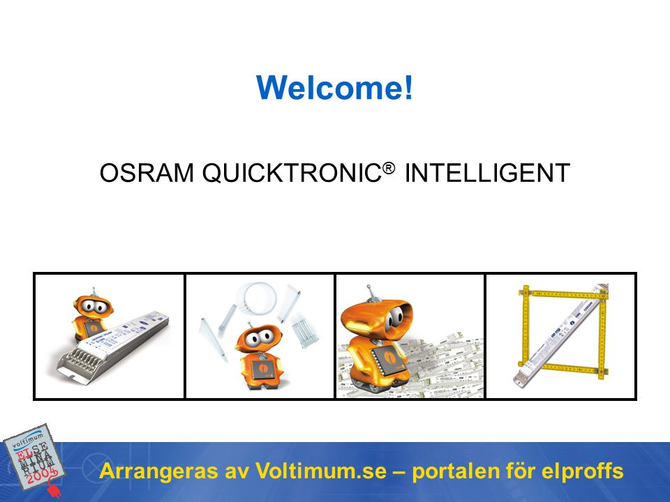 OSRAM QUICKTRONIC® INTELLIGENT