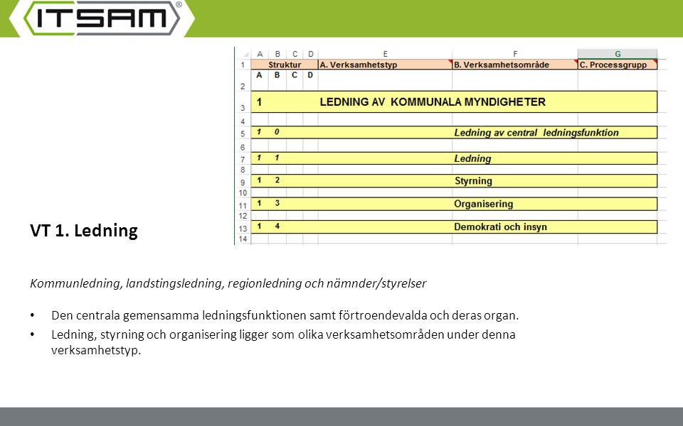 VT 1. Ledning Kommunledning, landstingsledning, regionledning och nämnder/styrelser.