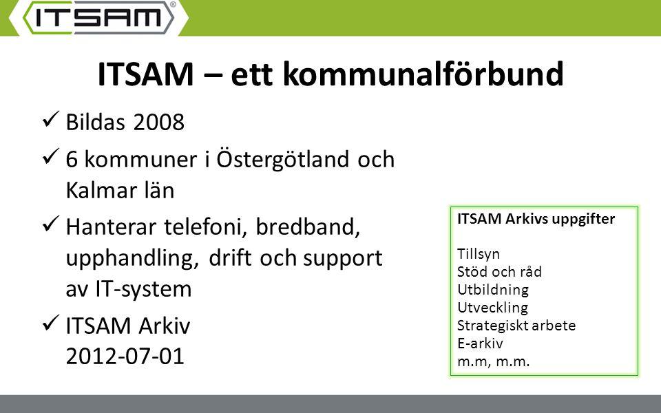 ITSAM – ett kommunalförbund