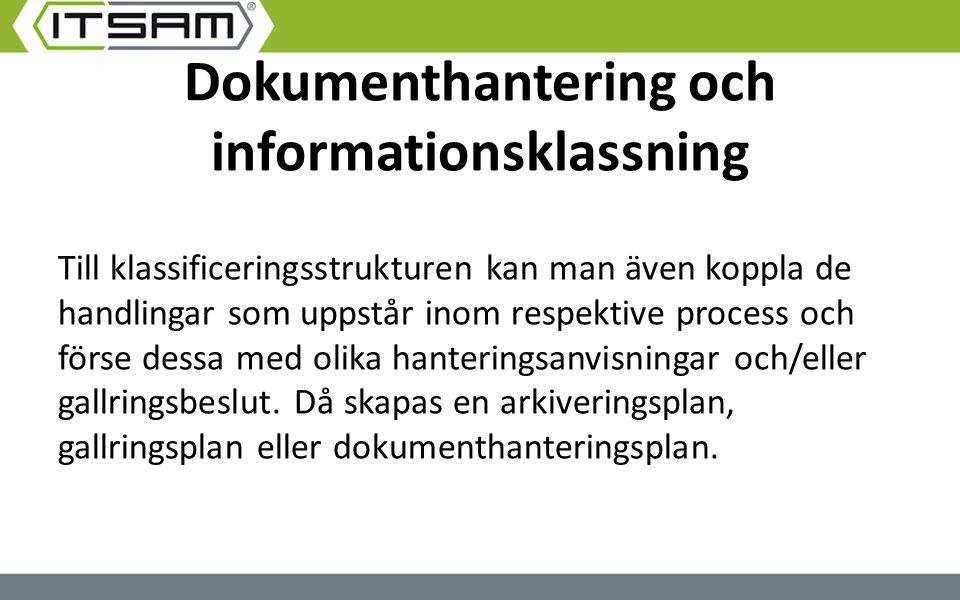 Dokumenthantering och informationsklassning