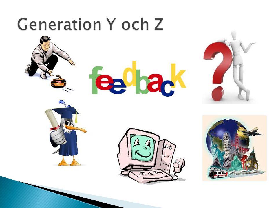 Generation Y och Z
