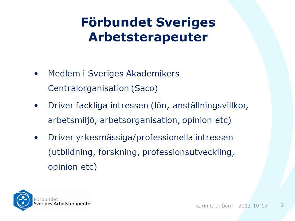 Förbundet Sveriges Arbetsterapeuter