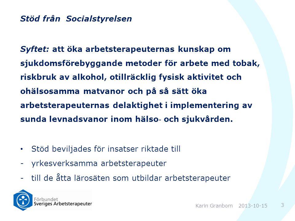 Stöd från Socialstyrelsen