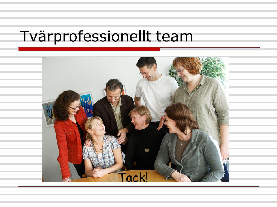 Tvärprofessionellt team