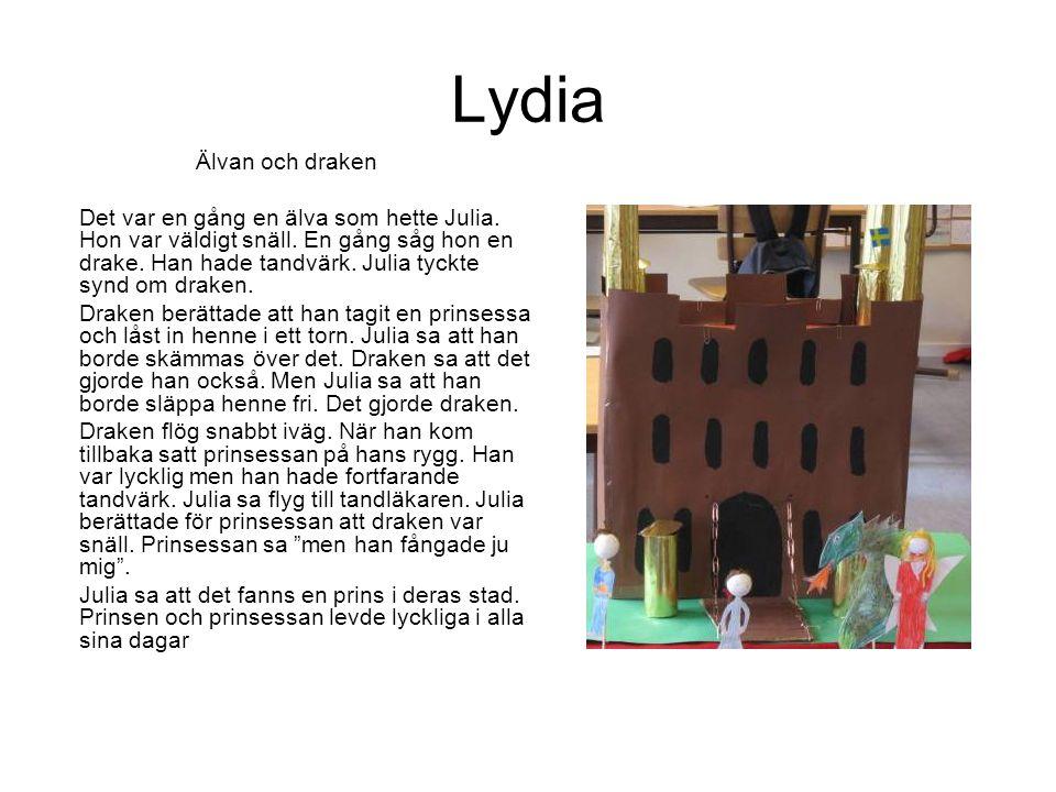 Lydia Älvan och draken.
