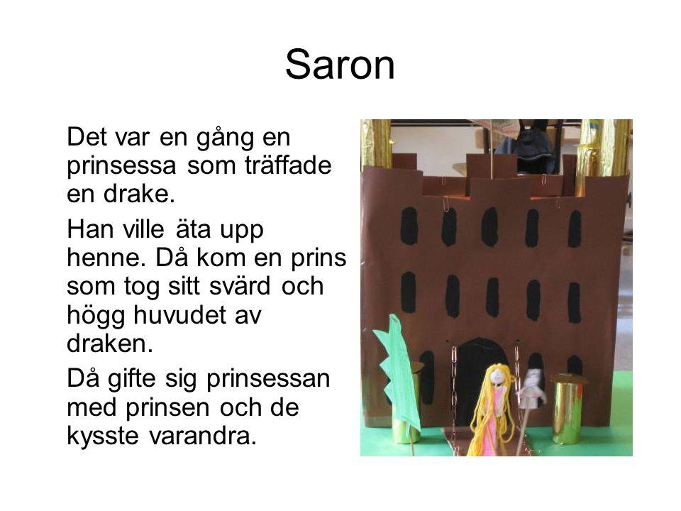 Saron Det var en gång en prinsessa som träffade en drake.