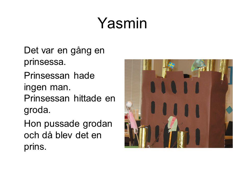 Yasmin Det var en gång en prinsessa.