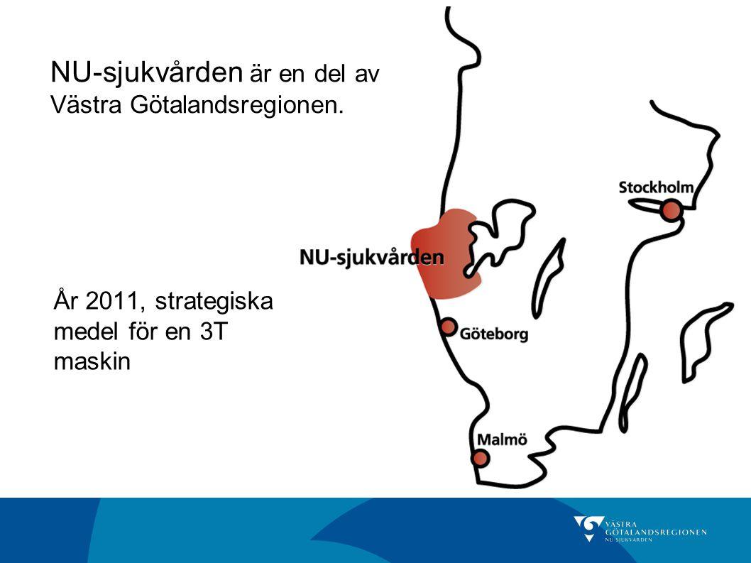 NU-sjukvården är en del av Västra Götalandsregionen.