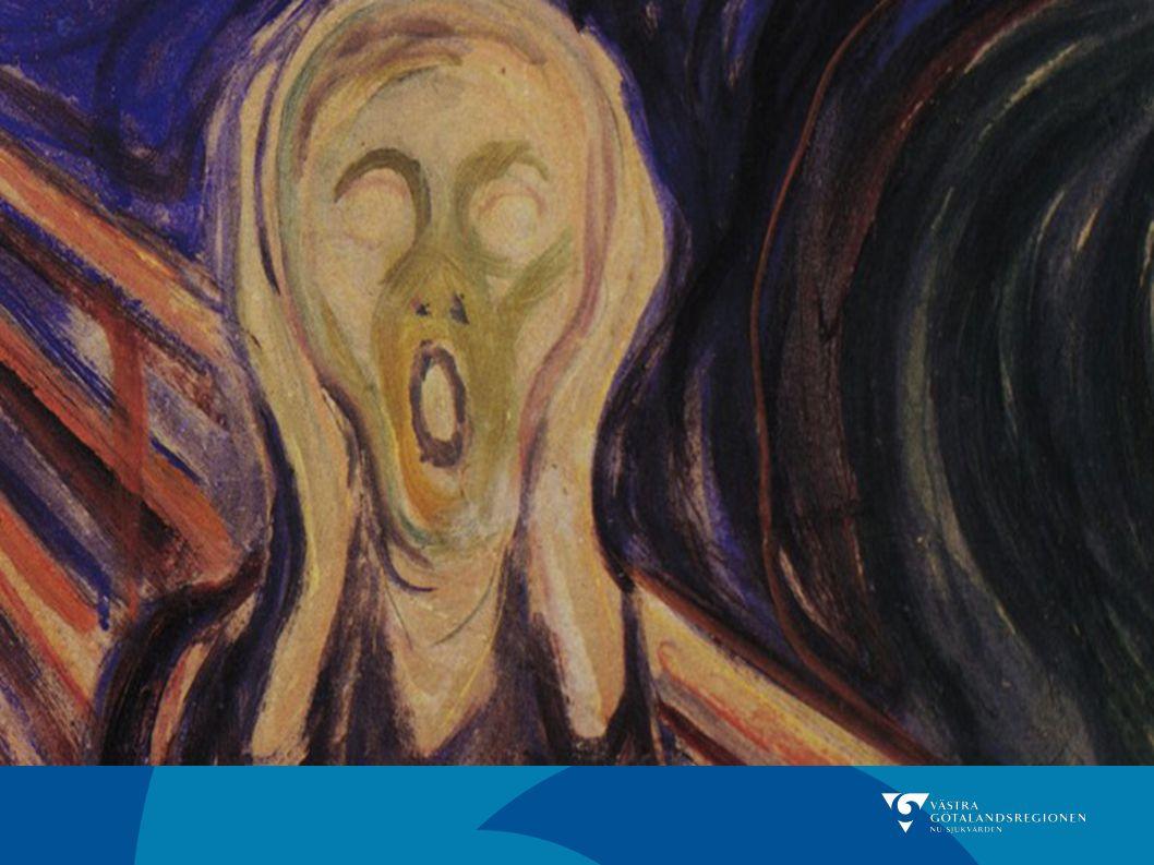 Skriet. är en väldig välkänd målning Munch har målat