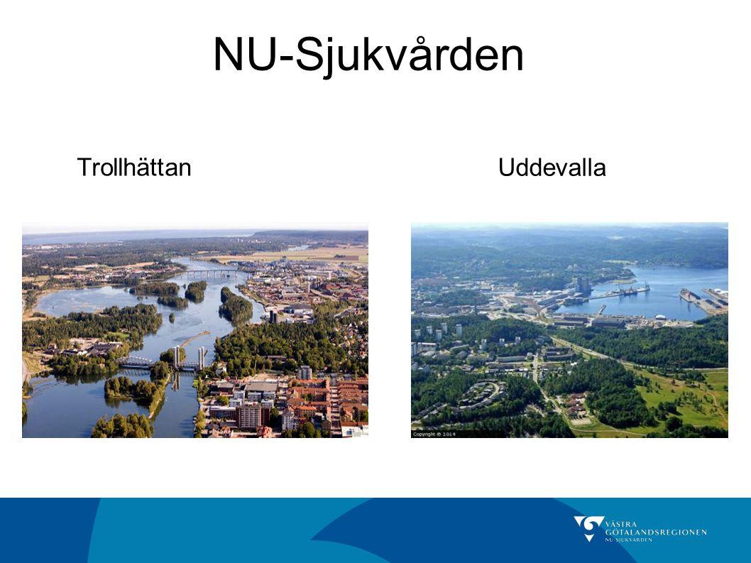 NU-Sjukvården Uddevalla Trollhättan Trollhättan med Göta Älv