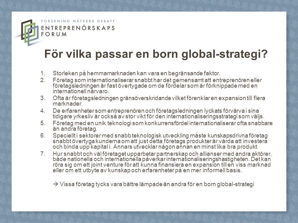 För vilka passar en born global-strategi