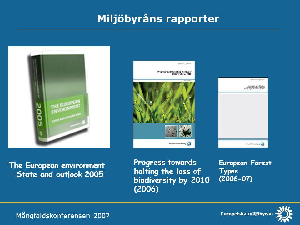 Miljöbyråns rapporter