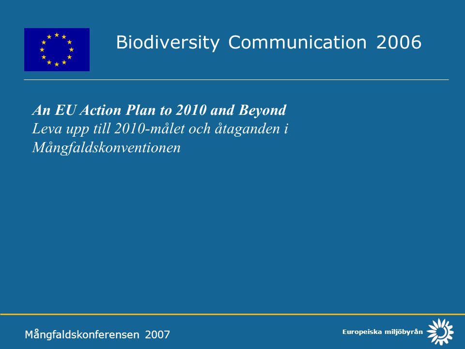 Biodiversity Communication 2006