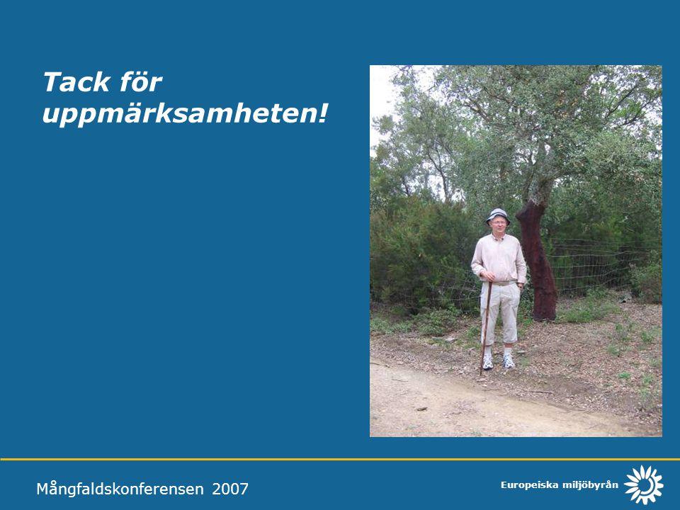 Tack för uppmärksamheten! Mångfaldskonferensen 2007