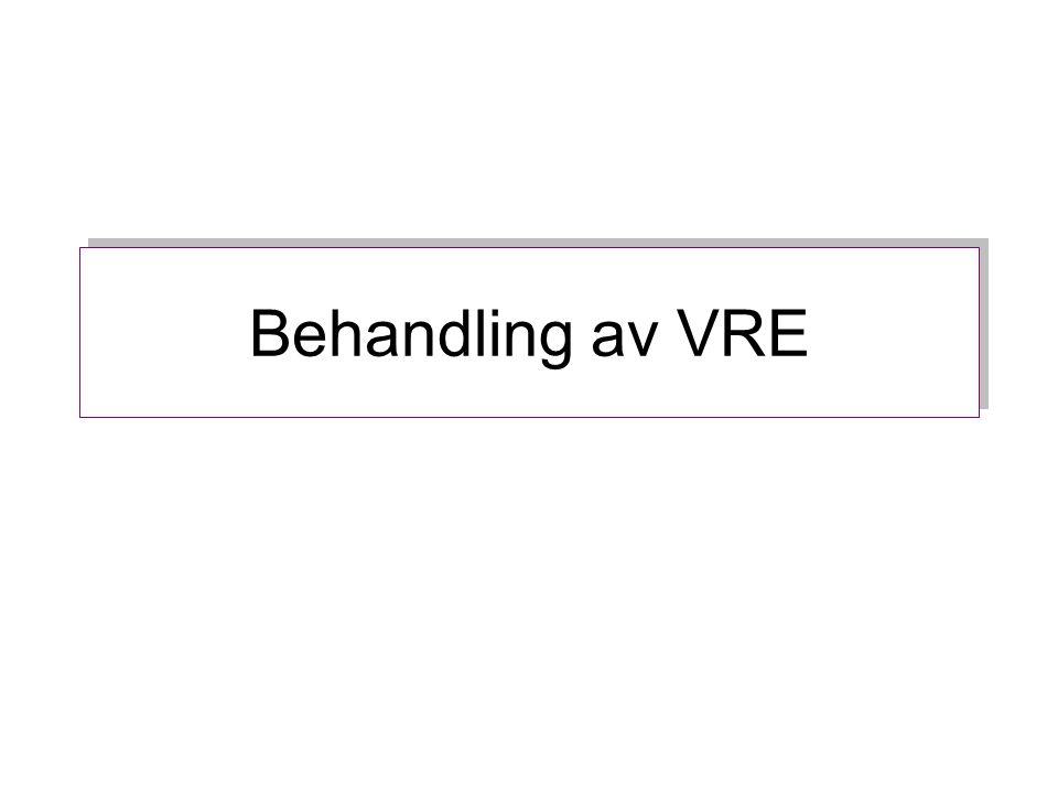 Behandling av VRE