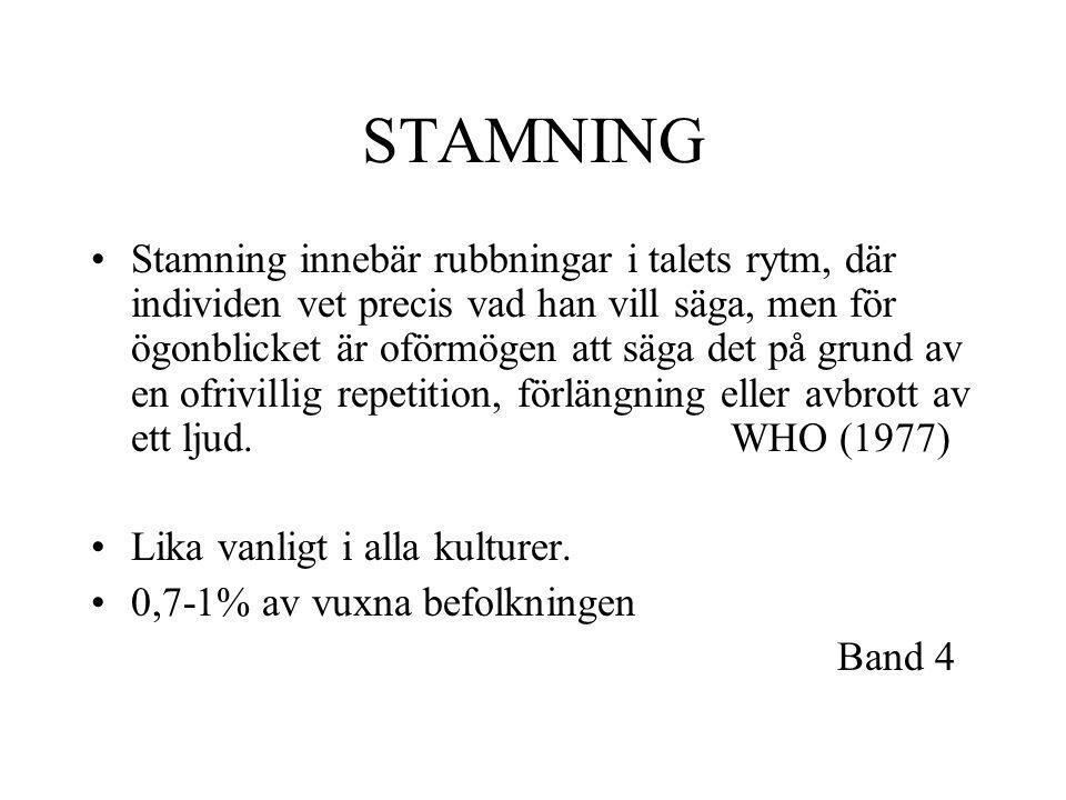 STAMNING
