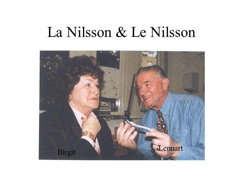 La Nilsson & Le Nilsson Lennart Birgit