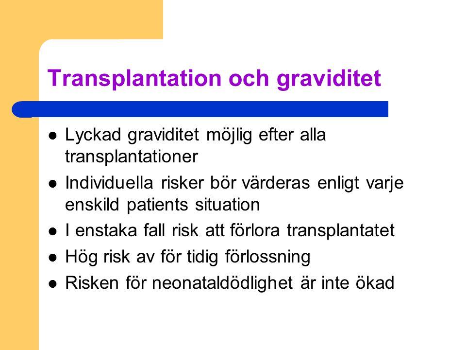 Transplantation och graviditet
