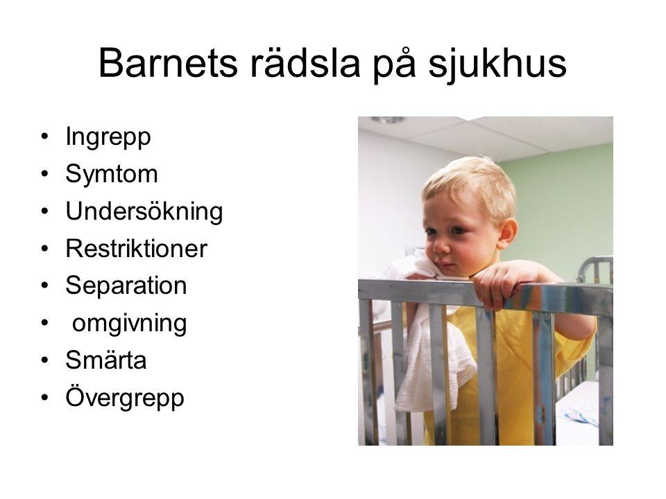 Barnets rädsla på sjukhus