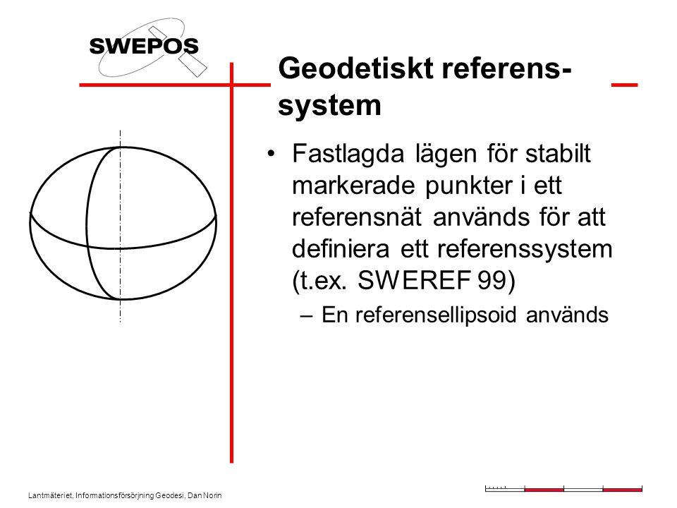 Geodetiskt referens-system