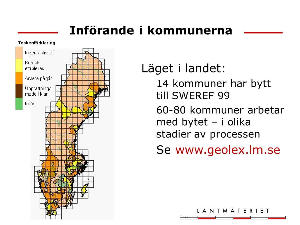 Införande i kommunerna