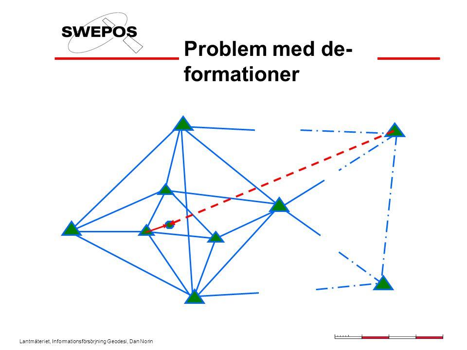Problem med de-formationer