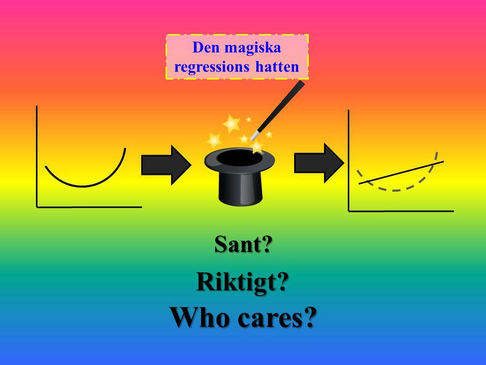 Den magiska regressions hatten