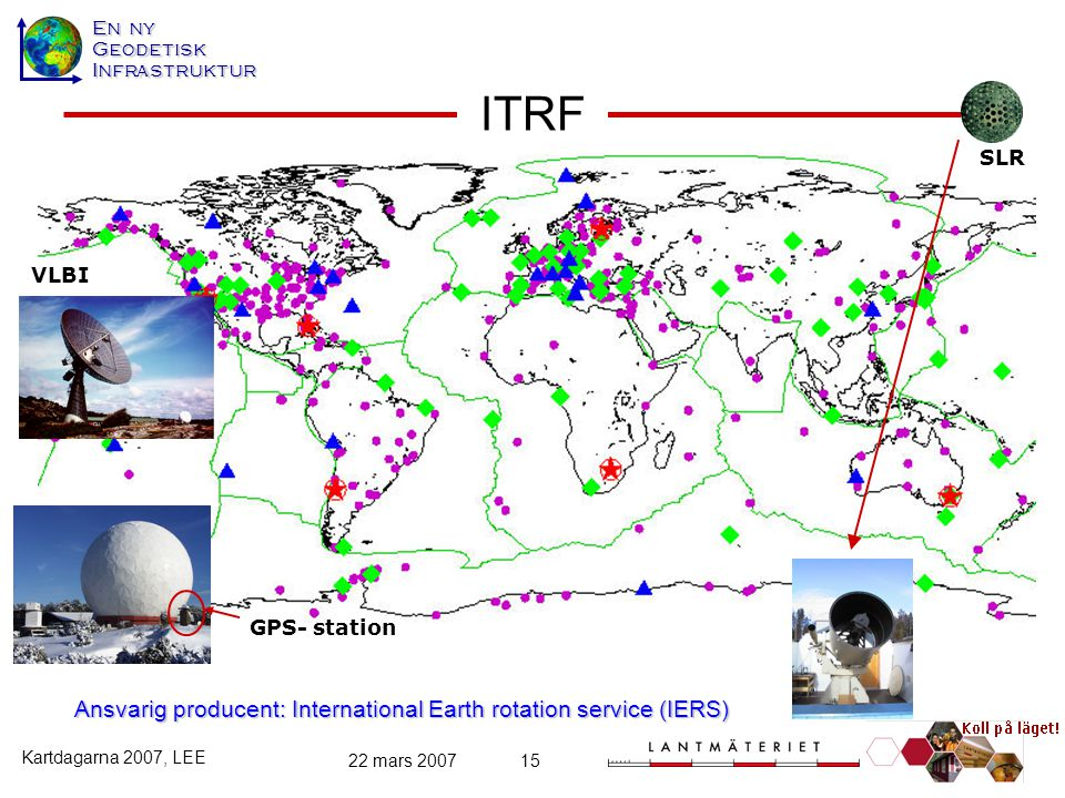 Ansvarig producent: International Earth rotation service (IERS)