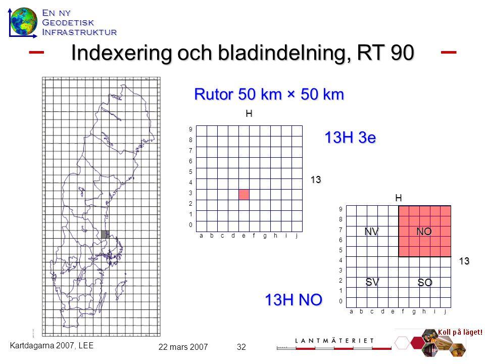 Indexering och bladindelning, RT 90