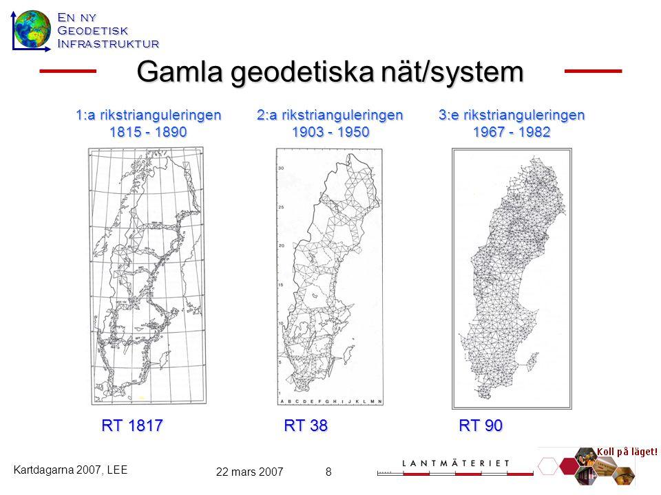 Gamla geodetiska nät/system