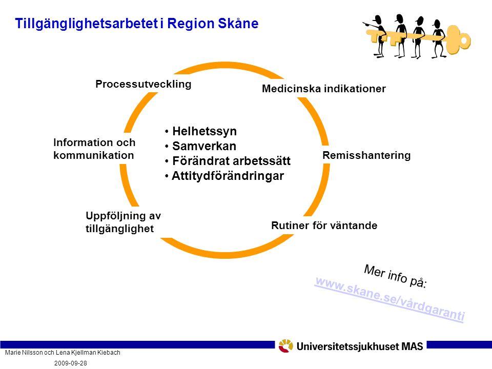 Tillgänglighetsarbetet i Region Skåne