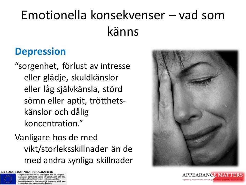 Emotionella konsekvenser – vad som känns