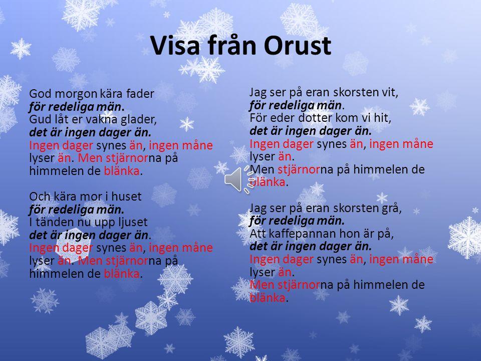 Visa från Orust