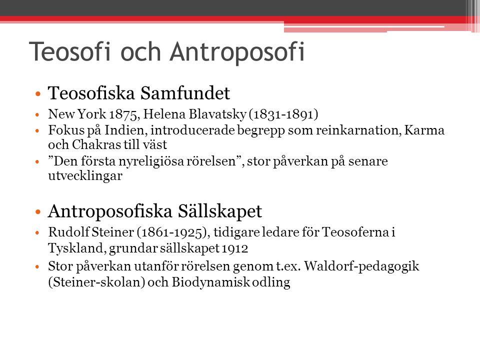 Teosofi och Antroposofi