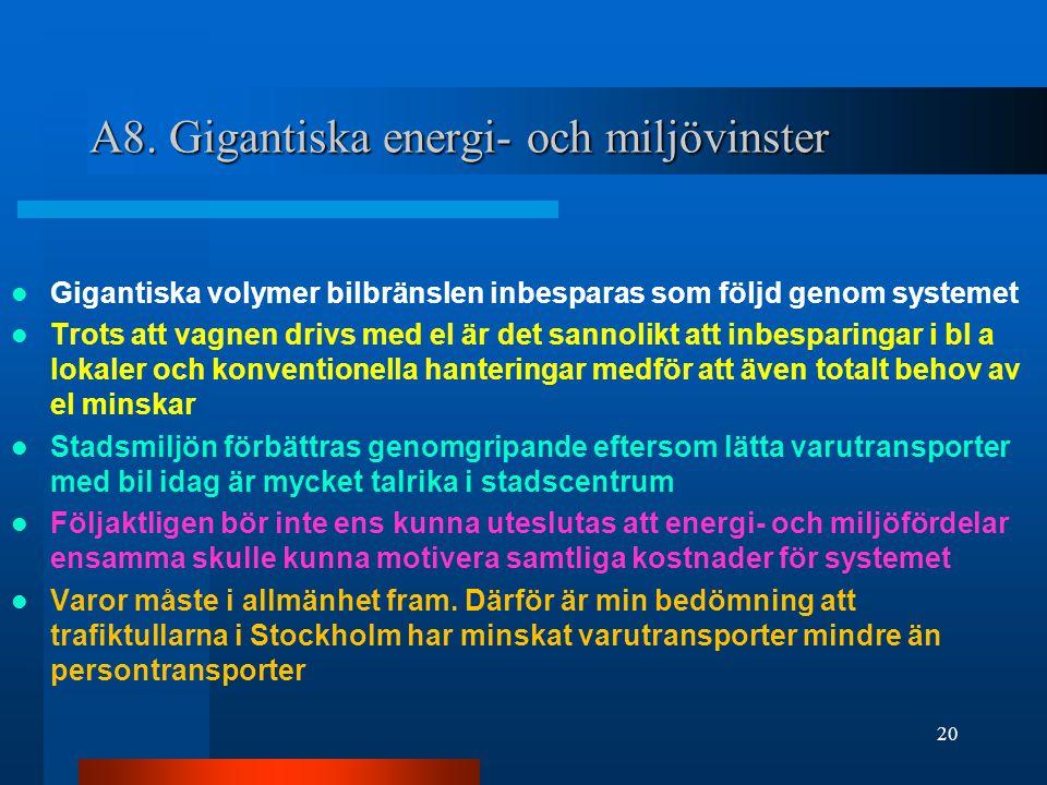 A8. Gigantiska energi- och miljövinster