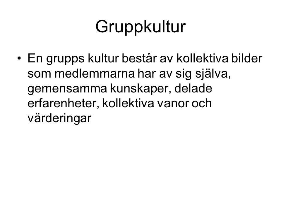 Gruppkultur