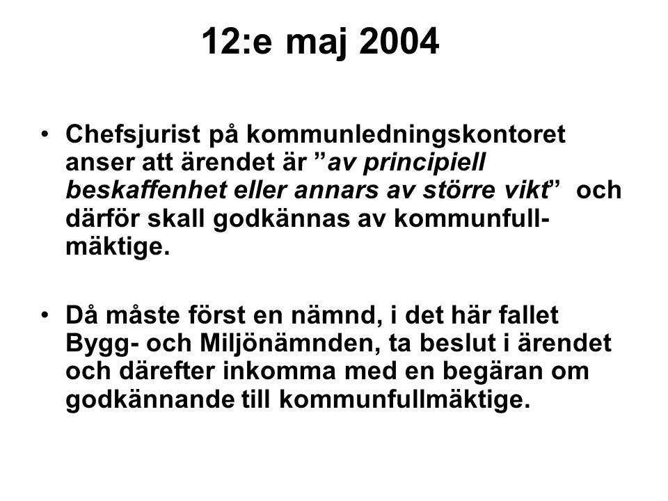 12:e maj 2004