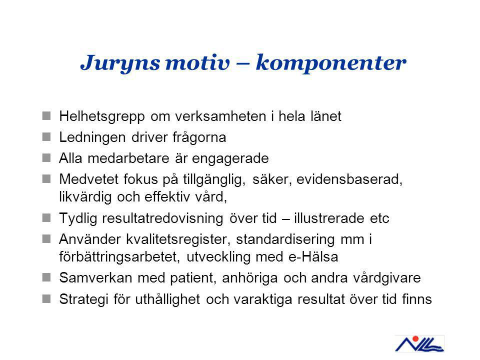 Juryns motiv – komponenter