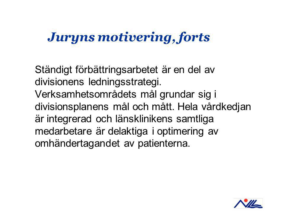 Juryns motivering, forts