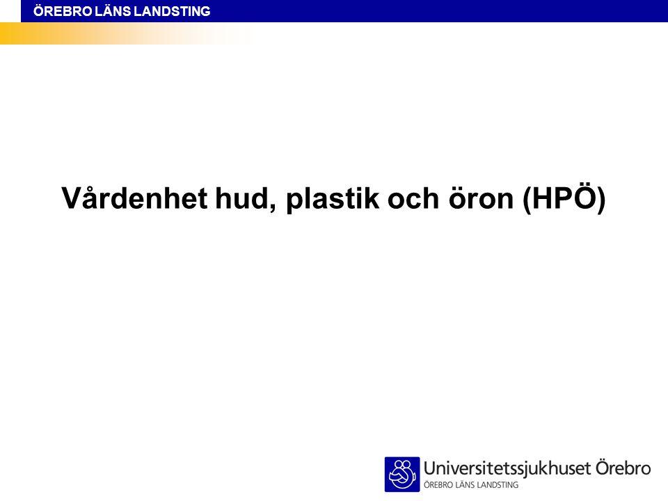 Vårdenhet hud, plastik och öron (HPÖ)