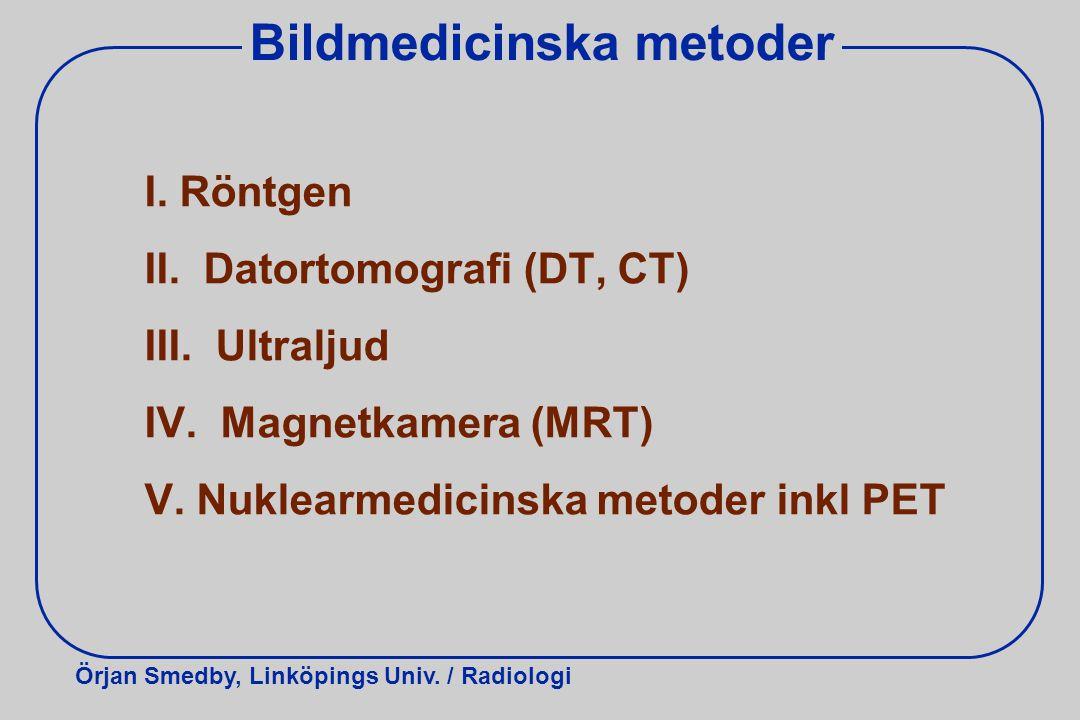 Bildmedicinska metoder