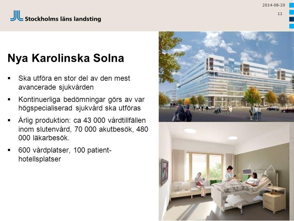 2017-04-05 Nya Karolinska Solna. Ska utföra en stor del av den mest avancerade sjukvården.
