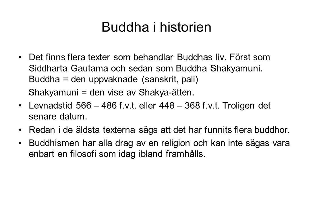 Buddha i historien
