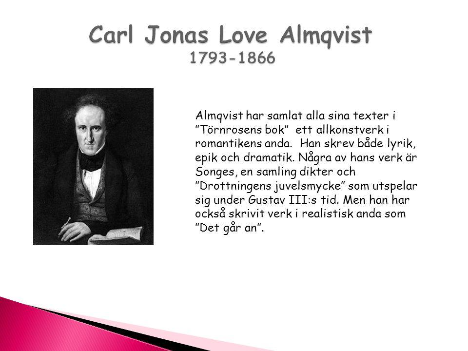 Carl Jonas Love Almqvist 1793-1866