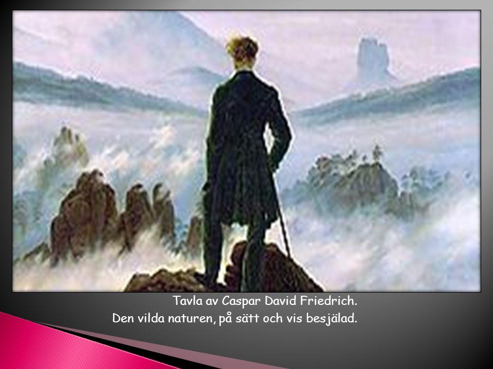 Tavla av Caspar David Friedrich.