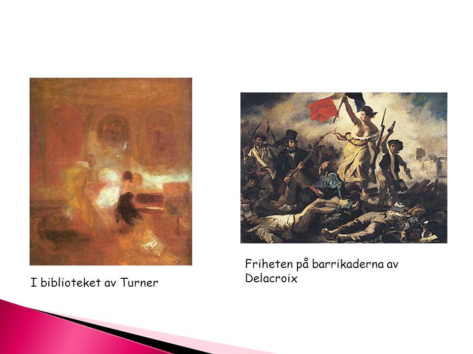 Friheten på barrikaderna av Delacroix