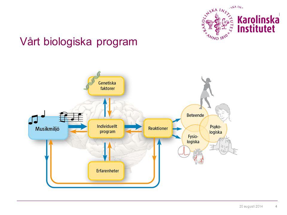 Vårt biologiska program