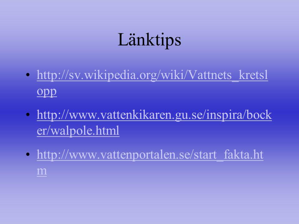 Länktips http://sv.wikipedia.org/wiki/Vattnets_kretslopp